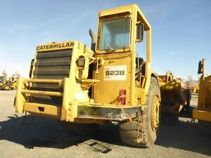 1974 Caterpillar 623b Water Wagon 8000 Gallon 2728