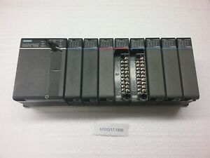 Siemens Simatic Ti435 Central Processing Unit On Rack W 6 Input