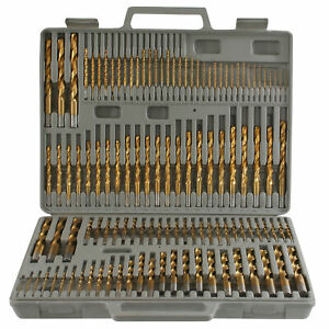 Pro series Ps07535 115 Piece Titanium Drill Bit Set
