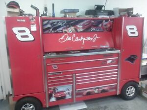 Dale Earnhardt Jr Snap On Double Bank Pit Box Tool Wagon Tuv