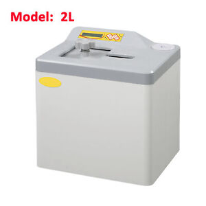 2l Small Portable Dental Lab Steam Autoclave Sterilizer Bench Table Top Class N