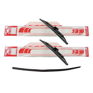 Genuine Oem Set Of 2 Front Windshield Wiper Blades Rear Insert For Prius