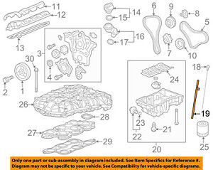 Gm Oem Engine Parts Guide Tube 12612349