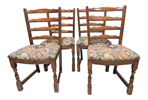 Antique English Chairs Set Of 4