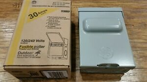 New In Box Tf30r Ge 30 Amp 120 240 volt Fused Ac Disconnect