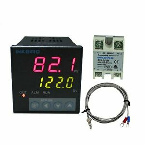 Inkbird Itc 106vh 100 To 240acv Pid Temperature Thermostat Controllers F And C