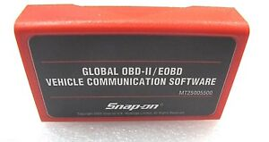 2009 Snap On Mt2500 Mtg2500 Scanner Global Obdii Eobd Can Cartridge