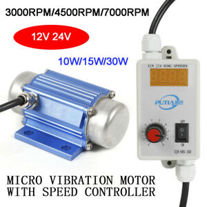 Dc Brushless Micro Motor Vibration W speed Controller Industrial Vibrating Motor