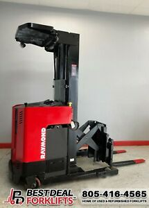 6 Refurbished 2008 Raymond Easi r40tt Reach Trucks 118 268 Masts 1599 Hours