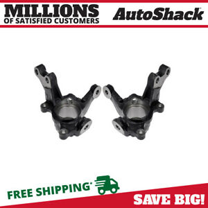 Front Bare Steering Knuckle Pair For 2003 2004 2005 2006 2007 2008 Toyota Matrix