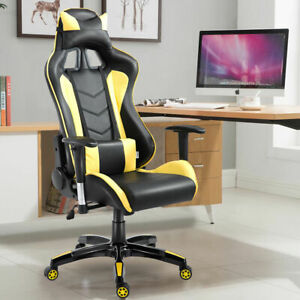 Costway High Back Executive Racing Reclining Gaming Chair