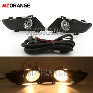 Pair Fog Light For Mazda 6 2003 2005 Front Bumper Driving Lamp Wiring Switch Kit
