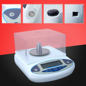 Analytical Balance 500g X 0 001g Lab Precision Electronic Scale Jewelry