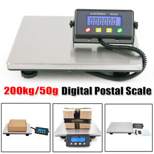 High Precision Lcd Digital Postal Shipping Scale Postage Capacity Of 200kg 50g