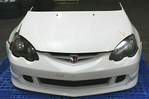 Jdm 02 04 Acura Honda Rsx Dc5 Type R Front End Conversion Rear Bumper White