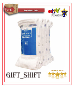 Daily Chef Bar Mops 16 X 19 24 Ct Free Shipping