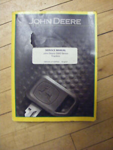 Service Manual Set For John Deere 2010 Tractor Technical Parts Catalog Repair