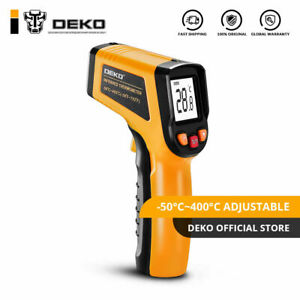 Deko 50 400c Digital Temperature Gun Ir Infrared Non contact Thermometer