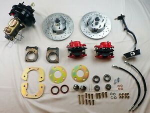 1967 1970 Ford Mustang Power Front Disc Brake Conversion Included Booster Pedal