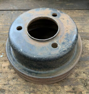 1967 Ford Mustang Cougar Fairlane 289 V8 Crank Pulley 2 Groove C7oe 6312 a