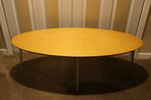 Scarce Discontinued Mid Century Modern By Modernica Los Angeles Coffee Table