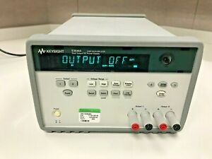 Agilent Hp Keysight E3648a Dual Output Power Supply Calibrated