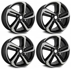 New Set Of 4 19 X 8 5 Replacement Wheel Rim For 2018 2019 2020 Honda Accord