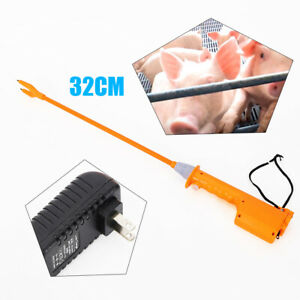 32cm Livestock Electric Shocker Prod Cattle Pig Wand Rechargeable Hot Sale