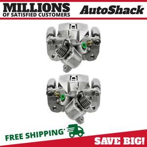 Rear Set Brake Caliper Pair 2 For Acura 2006 2011 Csx 2013 2014 Ilx 2 0l 2 4l