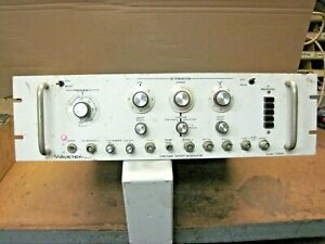 Wavetek Vhf Uhf Sweep Generator Model 172a Untested Used Light Up Loc G 15
