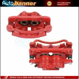 Front Brake Calipers L r For Ford Mustang 1999 2000 2001 2002 Base Or Gt Models
