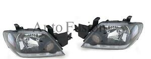 Headlight Left And Right Side pair For Mitsubishi Outlander Ze 2003 2004