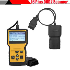Lcd Car Engine Fault Code Reader Diagnostic Scan Tool Real Time Data Analyzer
