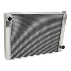 Chevy Aluminum Performance Racing Radiator 27 5 2 Row Single Pass Universal