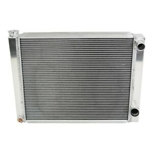 Chevy Aluminum Performance Racing Radiator 26 2 Row Double Pass Universal