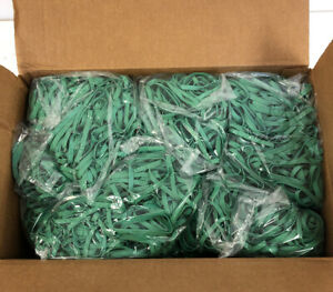 Green Rubber Bands 3 000 Per Case Strong Rubber Bands