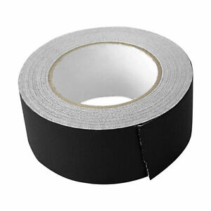 Rockville Rock Gaff Black Gaffers Tape 2 X 100 Ft For Pro Audio stage Wire