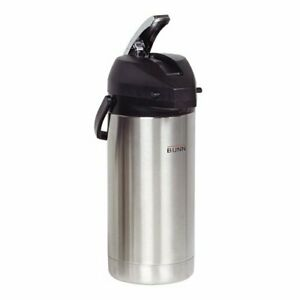 Bunn 36725 Airpot Coffee Dispenser Lever Action 3 8 Liter Capacity 17 5 8 h