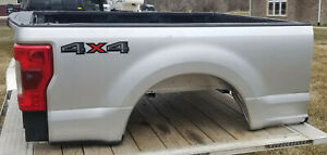 2017 2019 Ford F350 Superduty Short Silver Truck Bed Box 6 9