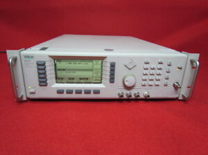 Wiltron anritsu 68347b Synthesized Sweep Signal Generator calibrated