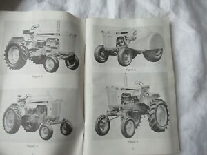 Case 730 830 Tractor Operator s Instruction Manual