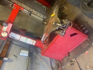 Baseline 200 Tire Machine Speed Balancer Machine And Large Snap on Tool Chest