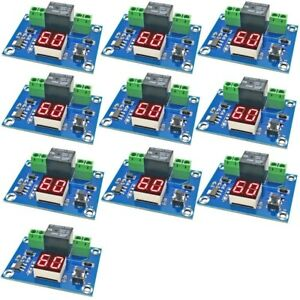 10pcs Dc 12v Digital Timer Switch Countdown Timer Module Automatic Controller