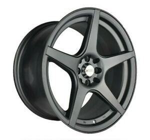 4pcs Xxr 17inch 9jj 4x100 4x114 3 Et27 Alloy Wheels Cheap Car Rims Mgm Xxr535 7