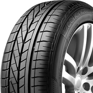 4 New Goodyear Excellence 215 55r17 94w High Performance Tires