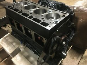 Case International 885 Rebuilt Short Block 3218064r95 8502