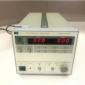 Agilent Hp Keysight 6038a System Autoranging Dc Power Supply 60v 10a