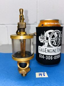 American Injector Co Brass Cylinder Oiler Hit Miss Gas Engine Vintage Antique