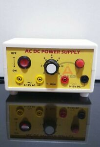Ac Dc Power Supply 1 To 3 Amp 2 12 Volts Superb Quality Fre Shipping World Wide