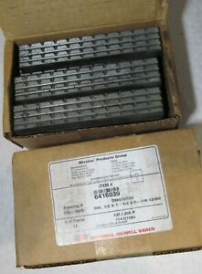 24x National Oilwell Varco 6416039 Drilling Tongue Die 1 2 X 1 1 4 X 5 7 8